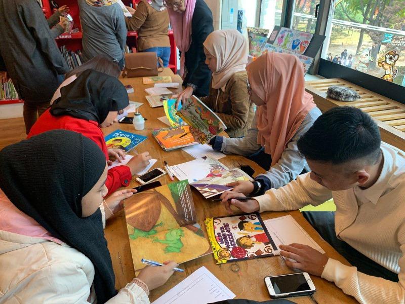 3. 말레이시아와의 교류 - 2019.11 - 국제어린이도서관 말레이시아 도서 연구.jpg